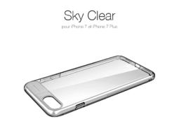 Sky Clear : Coque iPhone 7 & 7 Plus, super fine avec protection d'écran