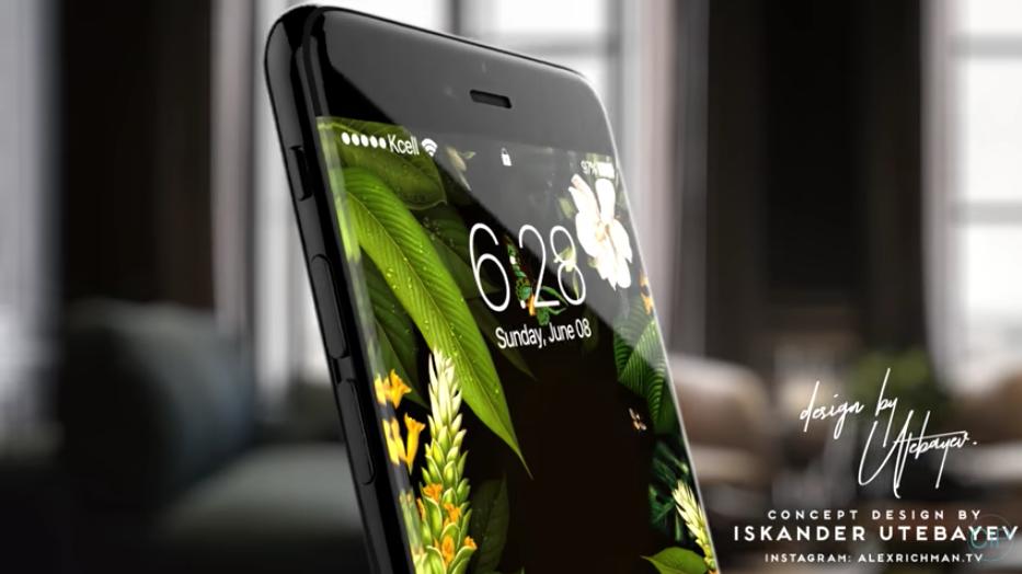concept iphone8 iPhone 8 : 3 Go de RAM, 64 Go de stockage au minimum, pas décran incurvé