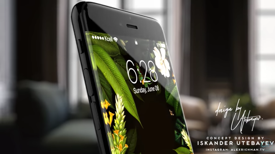 concept iphone8 iPhone 8 : lécran OLED engendrerait des prix excessivement élevés ?