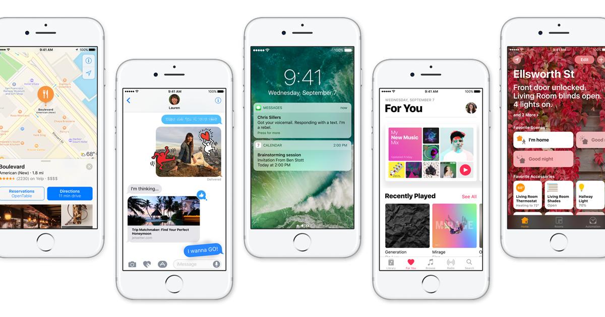 iOS 10 iOS 10.3 bêta 4 est disponible pour iPhone et iPad
