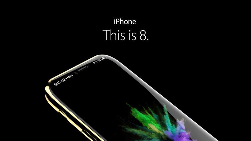 iphone 8 concept iPhone 8 : un système de reconnaissance faciale et gestuelle ?