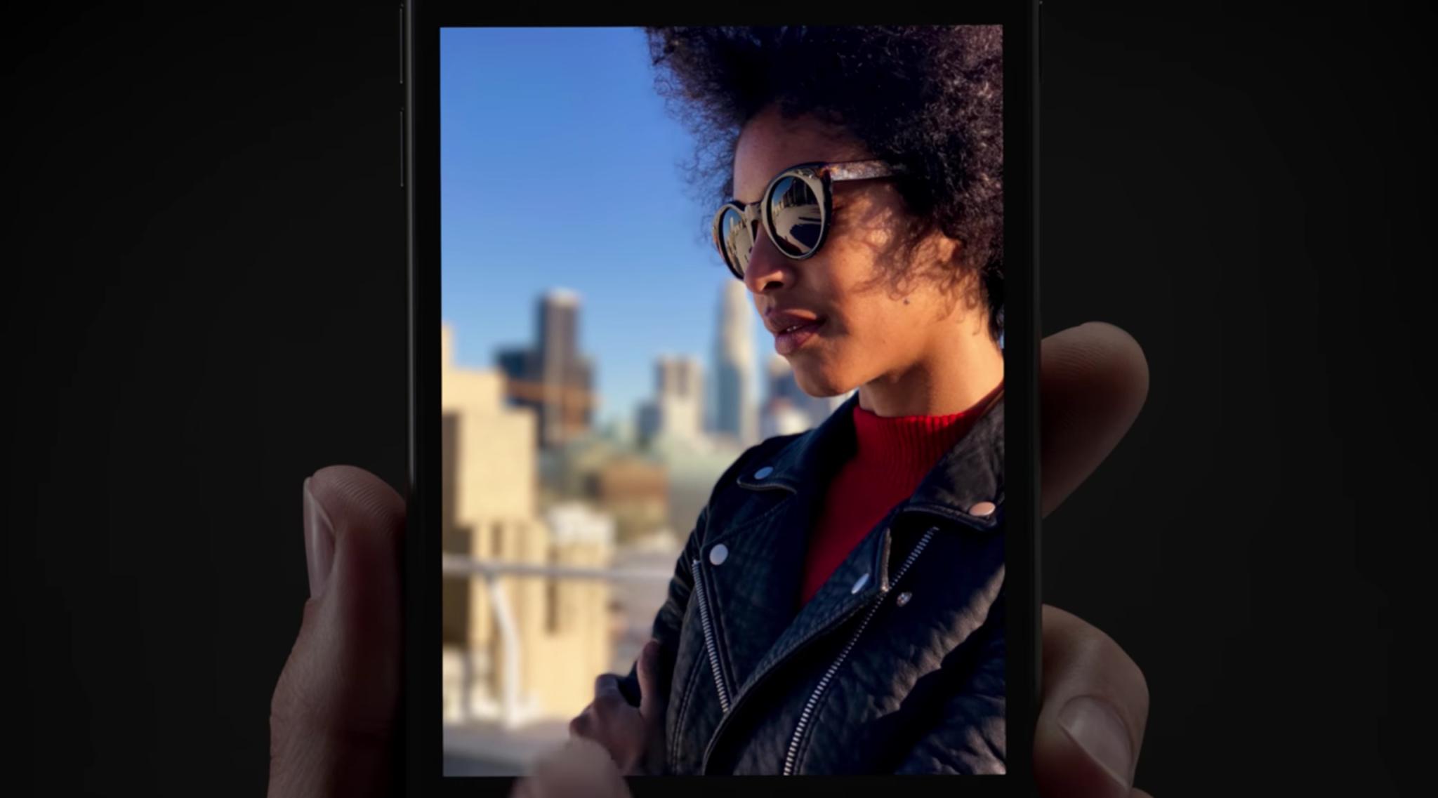 iphone 7 plus mode portrait pub Le mode portrait de liPhone 7 Plus mis en avant dans 2 publicités