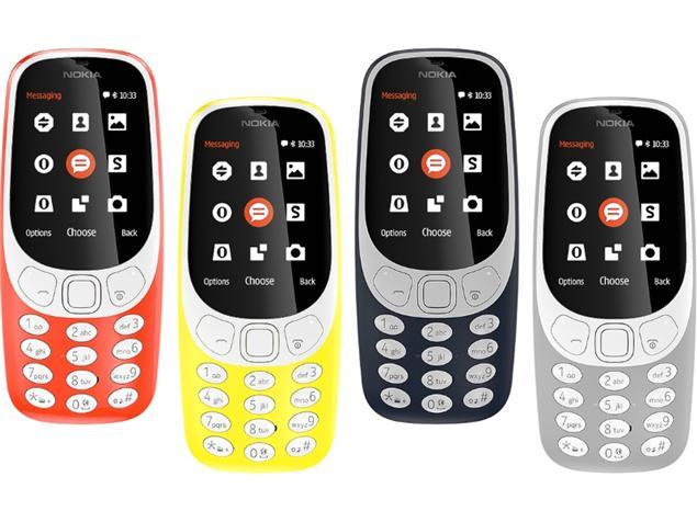 Mobile World Congress 2017 : lorsque le Nokia 3310 se met à jour !