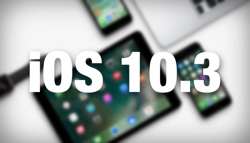 IALUTod iOS 10.3 : votre appareil ne fonctionnera plus jamais de la même manière