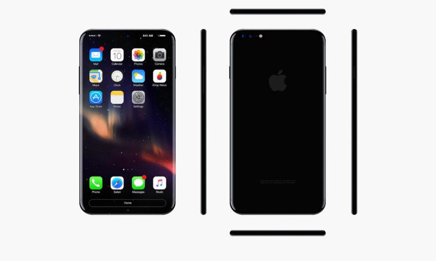 iPhone 8 1 850x510 iPhone 8 : recharge rapide et pas de port USB C