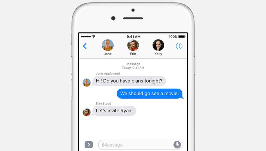 ios 10 app message Astuce : masquer les photos de vos contacts dans lapp Messages