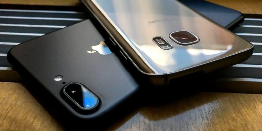 iphone 7 galaxy s7 iPhone 8 : des ventes supérieures à celles du Galaxy S8 de Samsung ?