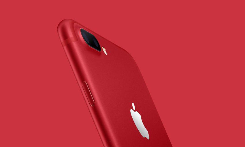 LiPhone 7 et liPhone 7 Plus (RED) disponibles à la vente !