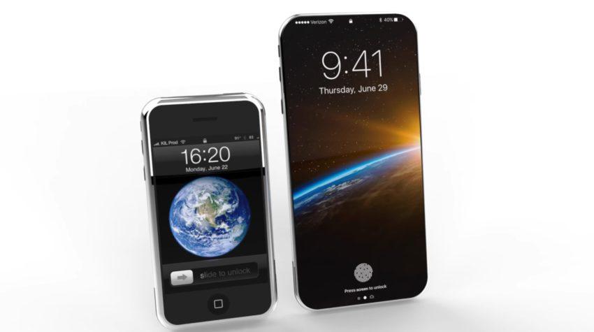iphone 8 concept iphone edge Vidéo : un concept diPhone 8 (Edition) inspiré du tout premier modèle diPhone