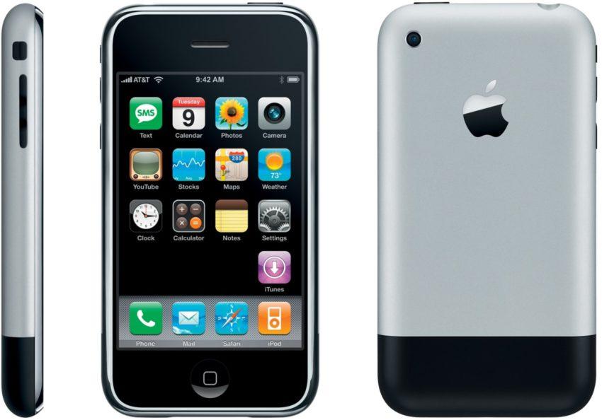 iphone edge LiPhone 8 pourrait reprendre le design du tout premier iPhone