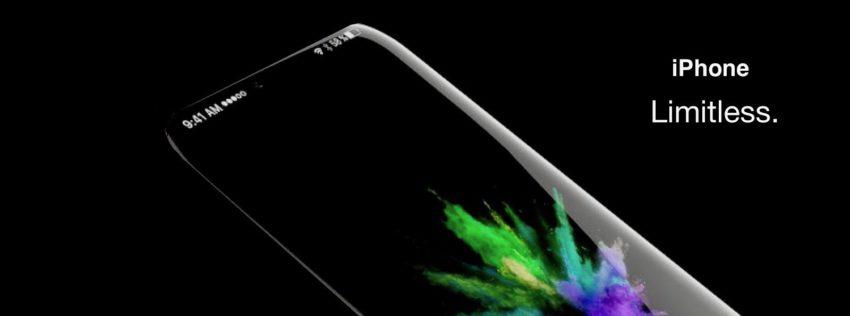 Concept iPhone : un écran sans aucune bordure