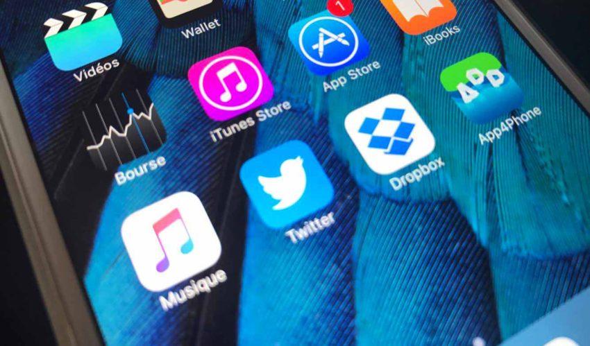twitter dropbox App Store : Twitter et Dropbox mis à jour pour supporter la suppression du cache