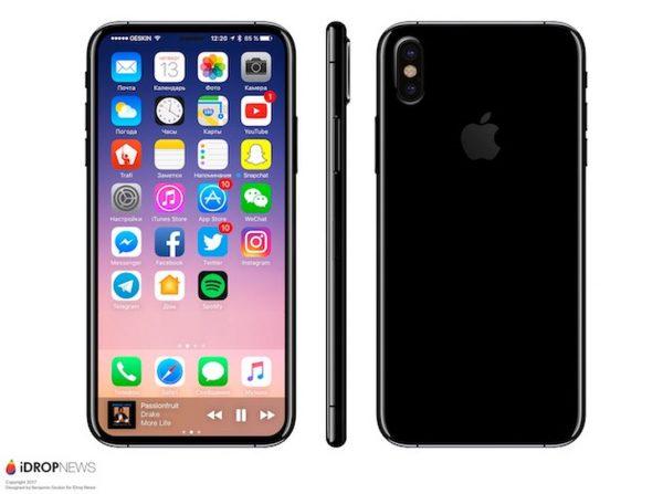 iPhone 8 3D iPhone 8 : nouveau design, nouveaux composants et date de sortie