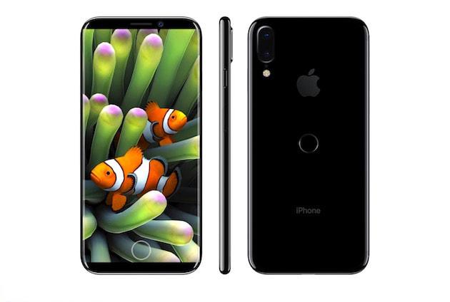 iphone 8 concept touch id iPhone 8 / iPhone 7s : schéma en fuite, Touch ID au dos, 3 Go de RAM et port Lightning ?