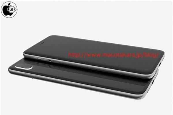 iphone 8 rendu 3D iPhone 8 : retrait possible du Touch ID et nouveau desing