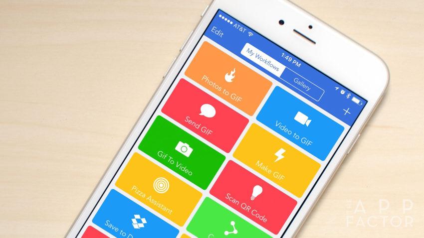 workflow App Store : lapplication Workflow rachetée par Apple ne sera plus actualisée
