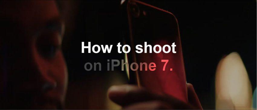 How to Shoot On iPhone 7 and 7 Plus App4Phone 850x364 Apple propose 4 nouvelles vidéos sur comment prendre de belles photos avec liPhone 7