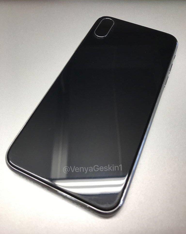 iphone 8 maquette 2 iPhone 8 : nouvelles photos et vidéo dune maquette et un schéma en fuite