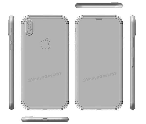 iphone 8 schema 1 iPhone 8 : de nouveaux schémas plus détaillés dévoilés