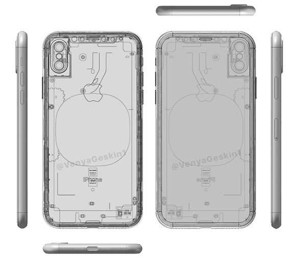 iphone 8 schema 2 iPhone 8 : de nouveaux schémas plus détaillés dévoilés