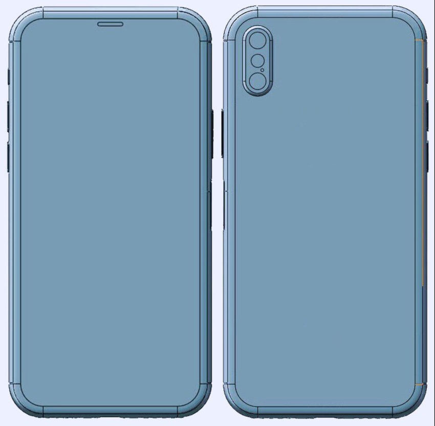 iphone 8 schema onleaks iPhone 8 : nouveau schéma confirmant quelques rumeurs