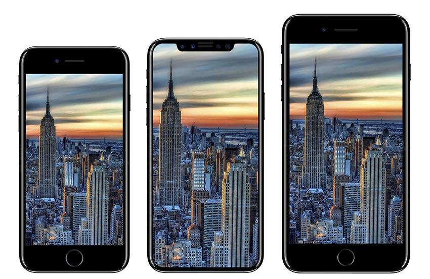 iphone8 taille comparaison LiPhone 8 sera plus grand que liPhone 7 daprès une rumeur