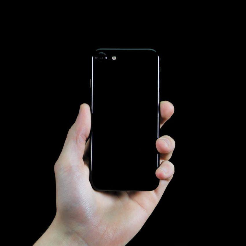 jetblack 1 Coque Jet Black ultra fine pour iPhone 7