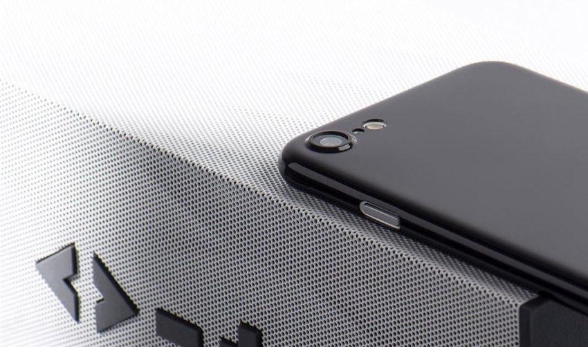 jetblack cover Coque Jet Black ultra fine pour iPhone 7