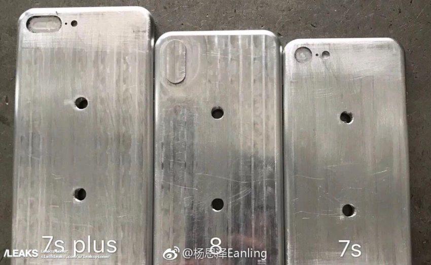 moules iphone 8 7s iPhone 8 / iPhone 7s : des moules et un schéma se dévoilent (photos)
