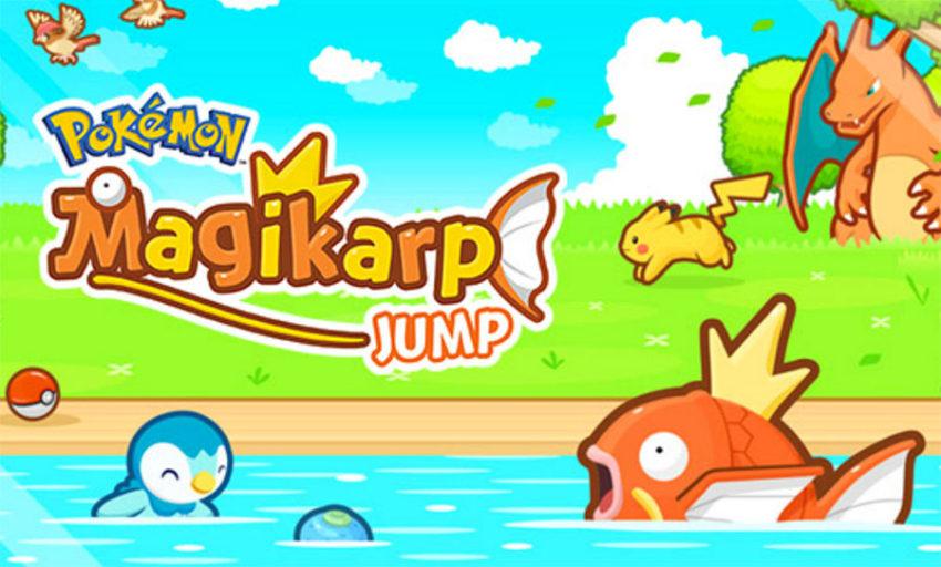 pokemon magicarpe jump 1 Pokémon Magicarpe Jump disponible sur lApp Store