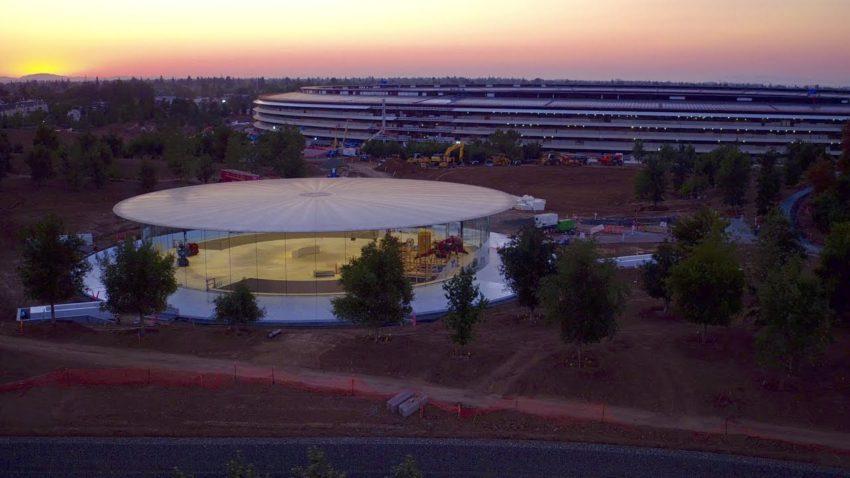 amphithéâtre Steve Jobs de l'Apple Park