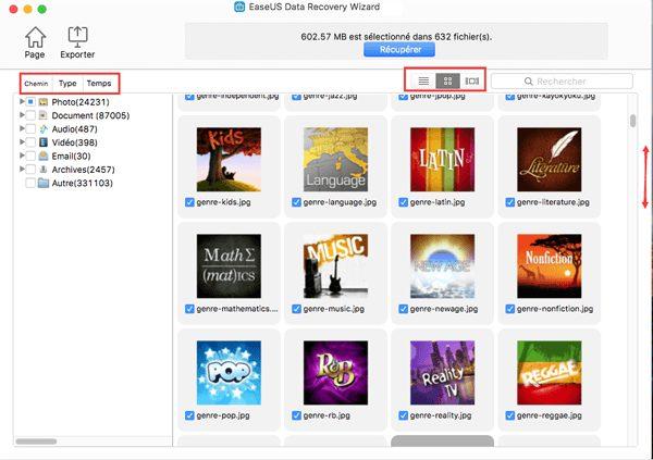 Mac tutorial03 Récupérer les données de son Mac grâce à EaseUS Data Recovery Wizard for Mac