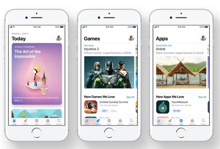 app store ios 11 850x574 LApp Store a rapporté beaucoup plus dargent que le Google Play Store en 2017