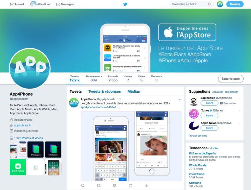 app4phone twitter Twitter iOS se met à jour avec un nouveau design et de nouvelles fonctionnalités
