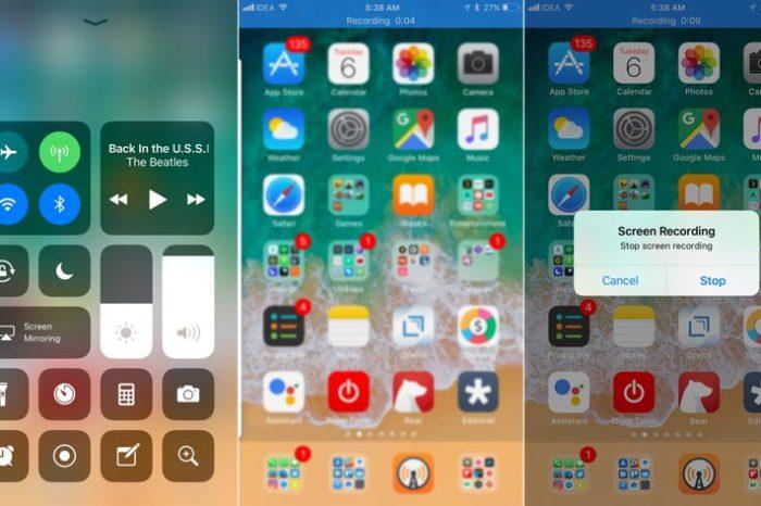 T l charger et installer le fond d 39 cran ios 11 sur iphone for Photo ecran ios 11