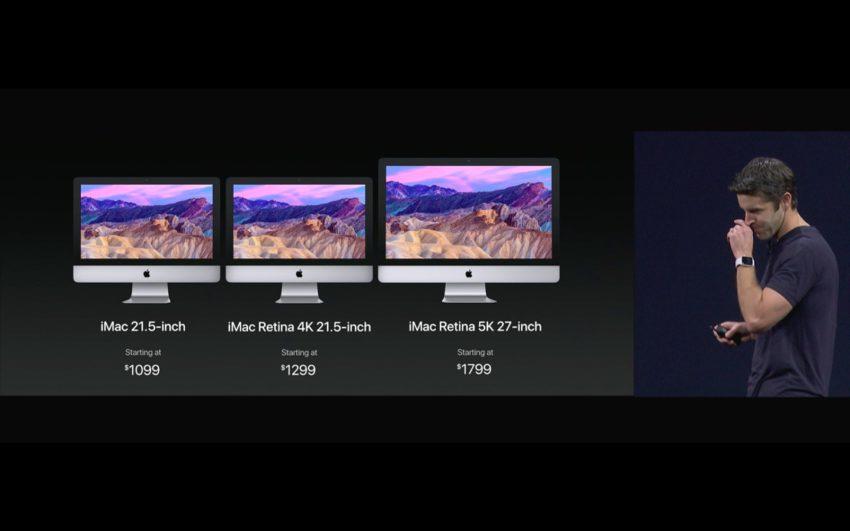 imac wwdc pricing 100724903 orig Bilan WWDC17 : Ce quil faut retenir du Keynote (iOS 11, HomePod, iPad Pro, watchOS 4)