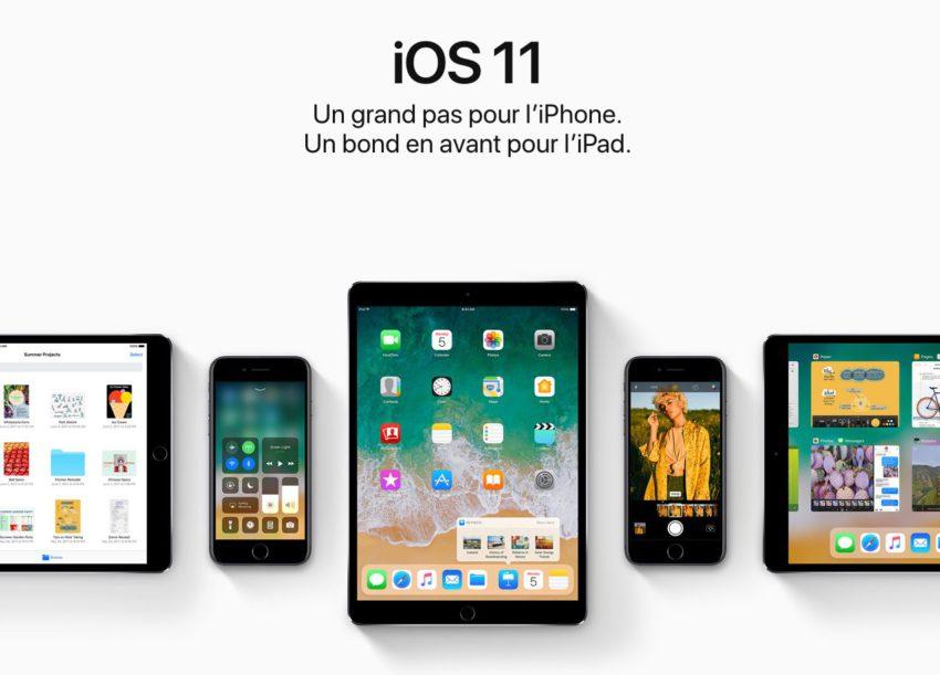 ios 11 Liste des iPhone, iPad et iPod Touch compatibles iOS 11