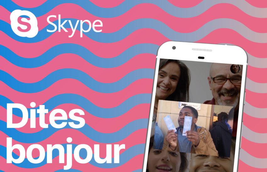 nouveau skype Le nouveau Skype 8.1 est disponible sur iPhone