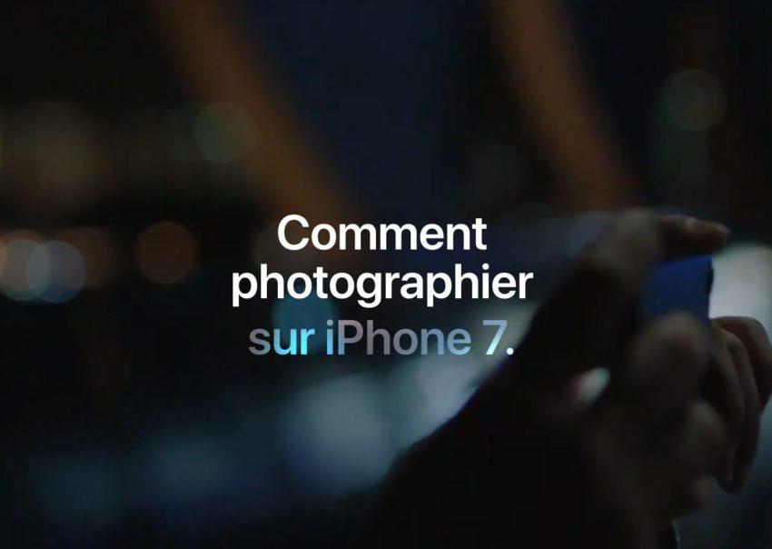 photo iphone7 Comment photographier sur iPhone 7 : vidéos en français