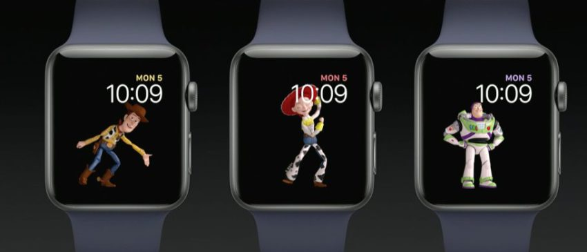 toy story apple watch Bilan WWDC17 : Ce quil faut retenir du Keynote (iOS 11, HomePod, iPad Pro, watchOS 4)