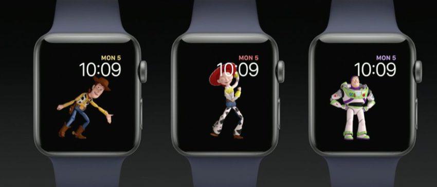 toy story apple watch Bilan WWDC17 : Ce quil faut retenir du Keynote (iOS 11, HomePod, iPad Pro, watchOS 4)