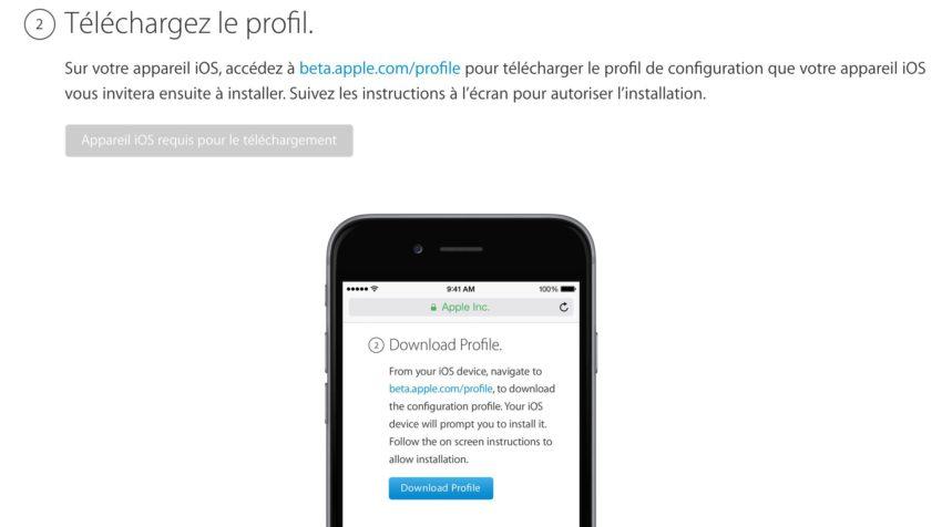 2 Comment installer iOS 11 bêta 2 publique sur iPhone, iPad et iPod Touch