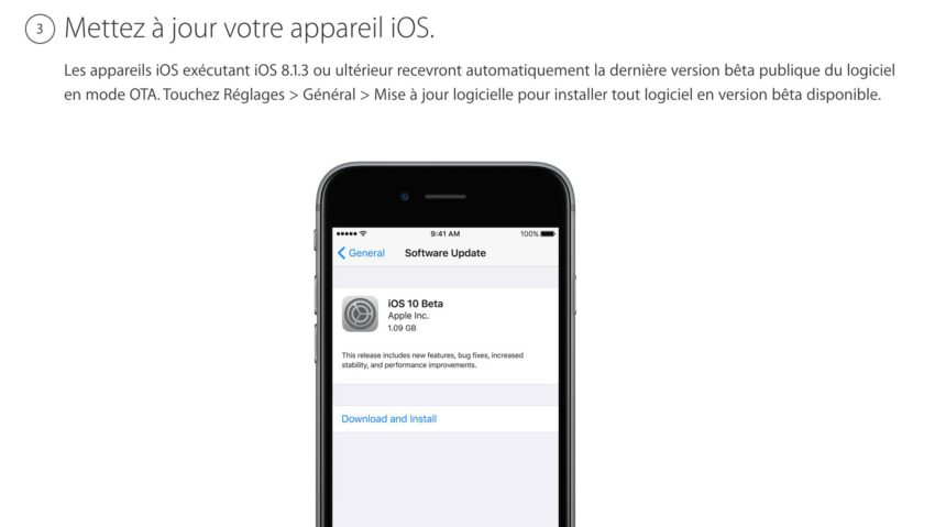 3 Comment installer iOS 11 bêta 2 publique sur iPhone, iPad et iPod Touch