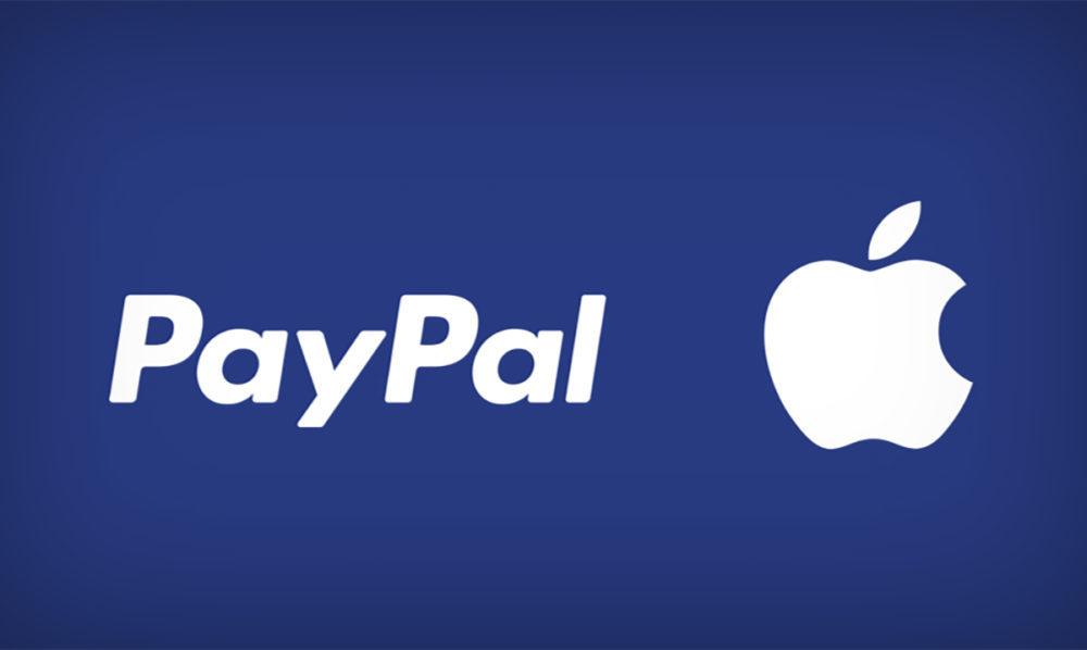 PayPal Apple 1000x598 App Store : comment configurer son compte PayPal pour faire ses achats