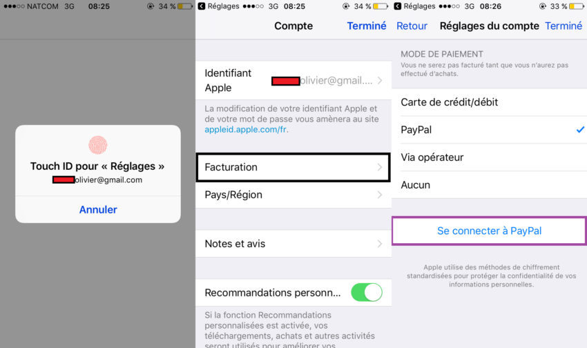 adding paypal app store app4phone 1 850x504 App Store : faire ses achats avec son compte PayPal, cest possible