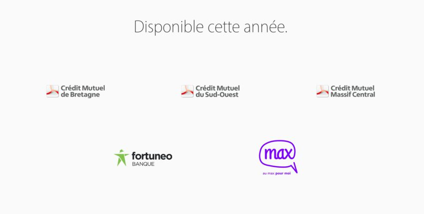apple pay credit mutuel fortuneo max Apple Pay : Crédit Mutuel, Max et Fortuneo bientôt disponibles