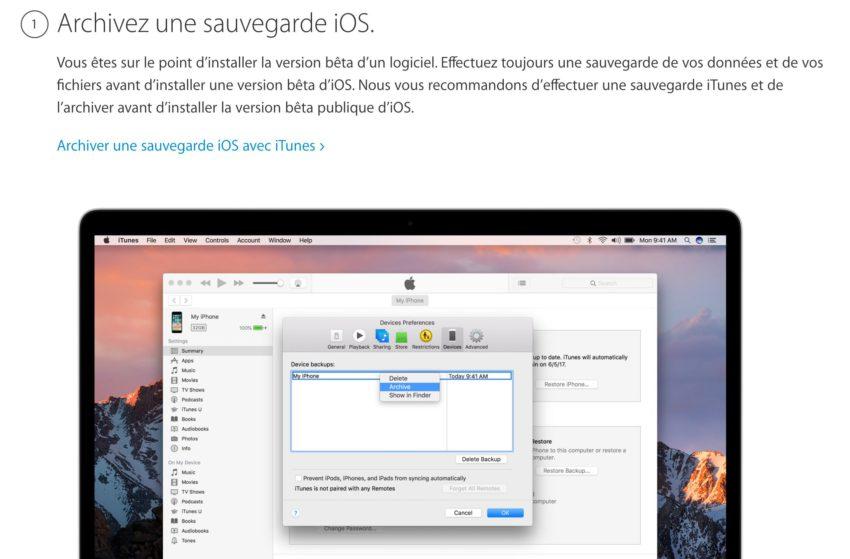archive iOS 11 Comment installer iOS 11 bêta 2 publique sur iPhone, iPad et iPod Touch