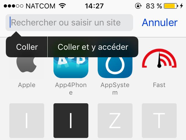 astuces safari app4phone coller aller 1 10 astuces Safari qui vous permettront dutiliser à fond le navigateur