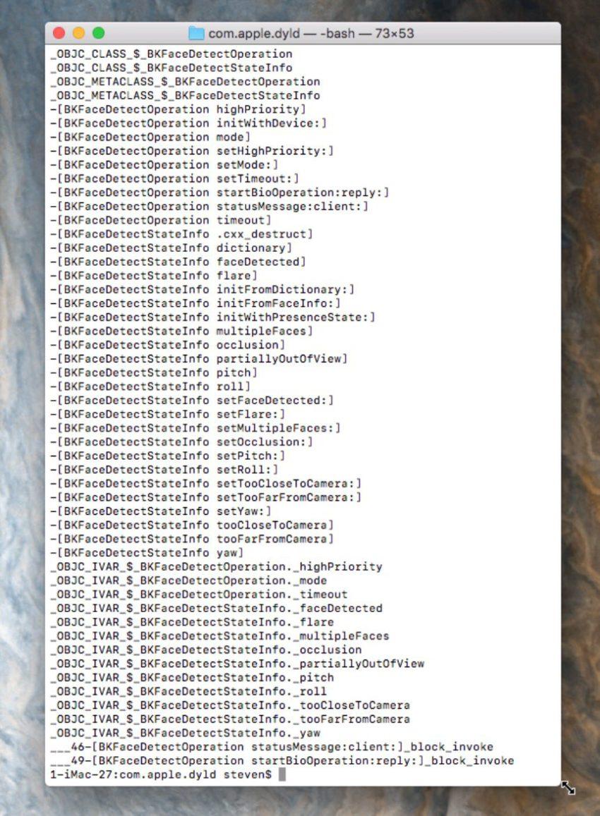 face detect iphone8 ios11 iPhone 8 : la reconnaissance faciale confirmée par liOS 11