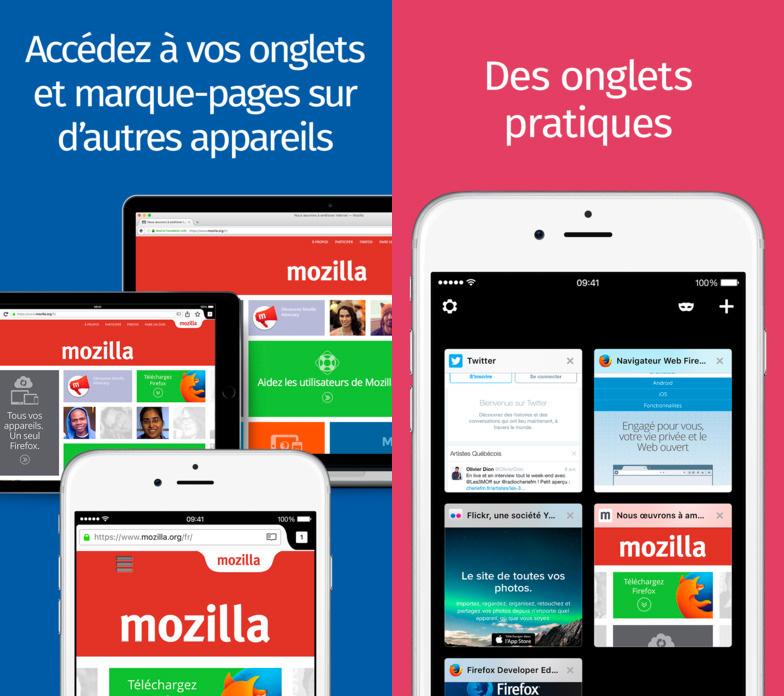 firefox 8 ios Firefox 8.0 pour iOS : mode nuit, lecteur QR code, navigation avec onglets